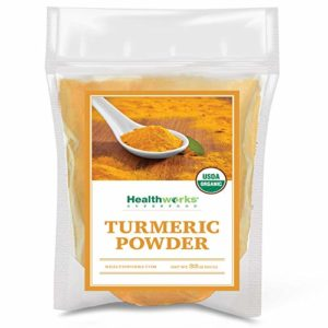 Healthworks Turmeric Powder Ground Raw Organic (32 Ounces / 2 Pound) | Curcumin & Antioxidants | Keto, Paleo, Vegan, Non-GMO | Anti-Inflammatory