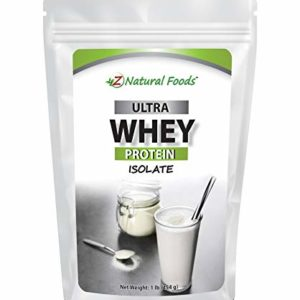Grass Fed Whey Protein Isolate - Unflavored - All Natural Protein Powder Made In The USA - Mix In A Smoothie, Shake, Drink, Or Recipe - Hormone Free, Unsweetened, Non GMO, Kosher & Gluten Free - 1 lb