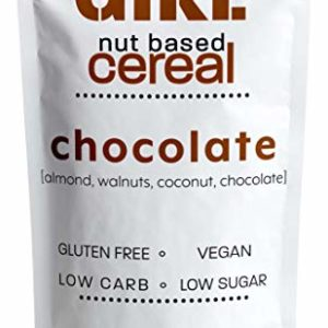 Farm Girl: Farm Girl: Keto Breakfast Cereal - Gluten and Grain Free - Perfect Ketogenic Friendly Food - Low Carb High Protein Products - Good Diabetic Diets 10oz (Chocolate)