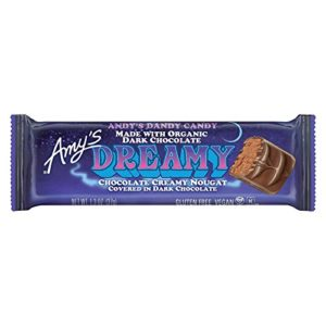 Amys Organic Vegan Dreamy Candy Bar, 1.3 Ounce - 12 per case.