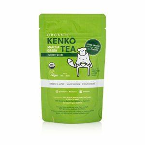 Matcha Green Tea Powder - USDA Organic Culinary Grade Matcha Powder 30g (1.06oz) for Green Tea Lattes, Smoothies and Baking. Suitable for Vegan, Paleo, Keto Diets. Gluten Free