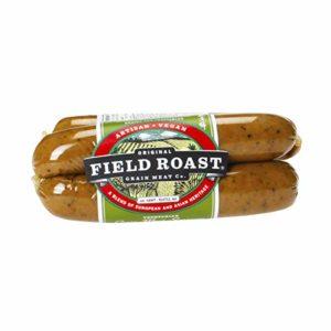 Field Roast Smoked Apple Sage Grain Meat Sausages, 12.95 oz (1 Pack, 4 links total)