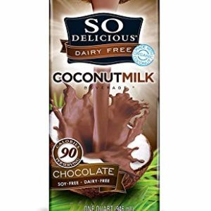 So Delicious Dairy Free Coconutmilk Beverage, Chocolate, 32 Ounce, 12 Count