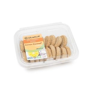 GluteNull Lemon Coconut Cookies - Low Carb, Keto, Paleo