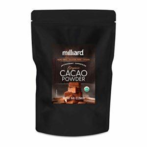 Milliard Raw Organic Cacao Powder / Non-GMO and Gluten Free / 5 lbs.