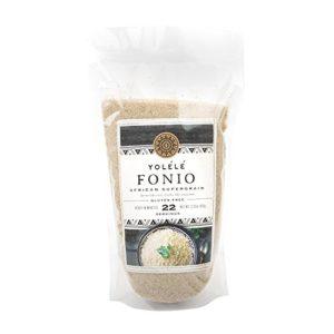 Assortit Yolele Premium Prewashed Fonio Ancient African Grain Alkaline Diet Super Food Vegan High Protein Gluten Free Fast Cooking 22 Servings 2.25 Lb (36 Oz)
