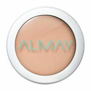 Almay Clear Complexion Pressed Powder, Hypoallergenic, Cruelty Free, Oil Free, Fragrance Free, Dermatologist Tested, with Salysilic Acid, Light Medium