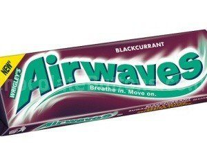 Wrigley's Airwaves Blackcurrant- Case of 30 Packs