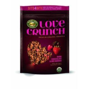 Nature's Path Organic Premium Love Crunch Granola Dark Chocolate & Red Berries ,26.4oz ,(3 Pack)
