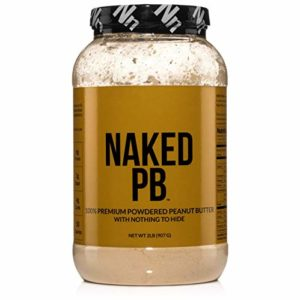 2lbs of 100% Premium Powdered Peanut Butter from US Farms - Bulk, Only Roasted Peanuts, Vegan, No Additives, Preservative Free, No Salt, No Sugar - 76 Servings - NAKED PB