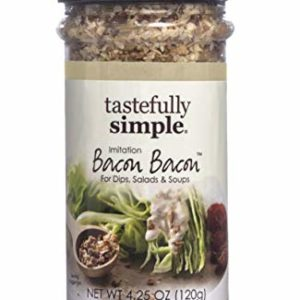 Tastefully Simple Bacon Bacon Seasoning, Tastes Like Real Bacon, Vegan, No MSG