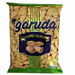 Roasted Peanuts in Shell (Garlic Flavor) - 4.9oz (Pack of 2)