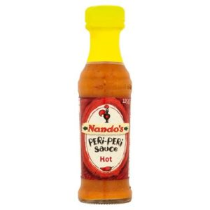 Nando's Hot Peri-Peri Sauce 125g - Pack of 2