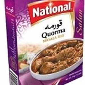 NATIONAL Quorma Masala 50x 2 (2nd Bag Inside)