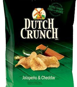 Old Dutch Crunch Jalapeno & Cheddar Kettle Cooked Chips 200g {Imported from Canada}