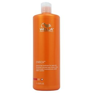 Wella Enriched Moisturizing Conditioner for Coarse Hair for Unisex, 33.8 Ounce
