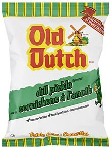 Old Dutch Dill Pickle Chips - 40g Bag