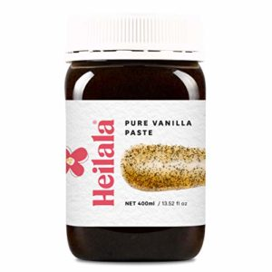 Vanilla Bean Paste for Baking - Heilala Vanilla Paste, Multi-Award Winning, Ethically Sourced Bourbon Variety Vanilla Pods, Hand-Picked from Polynesia, the Choice of Chefs and Bakers, 13.52 fl oz