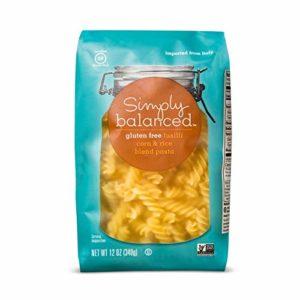 Simply Balanced Gluten Free Fusilli Corn & Rice Pasta (12 Oz)