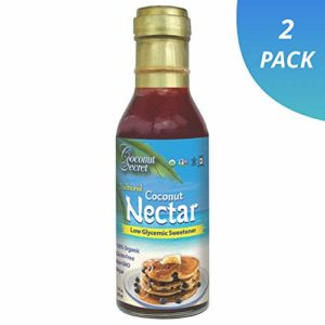 Coconut Secret Coconut Nectar (2 Pack) - 12 fl oz - Natural, Low-Glycemic Liquid Sweetener, Agave Syrup Alternative - Organic, Vegan, Non-GMO, Gluten-Free - 48 Total Servings
