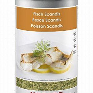 Wiberg Fish Scandis, seasoning salt with herbs - 700g