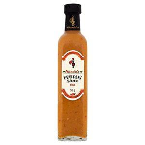 Nando's Peri-Peri Sauce Hot - 500g (1.1lbs)