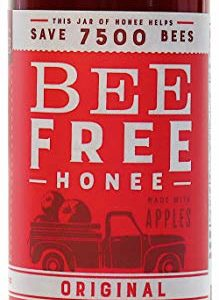 """Bee Free Honee - Vegan """"Honey"""" made from Organic Apples that's Safe for Children & those allergic to Honey! Tasty Honee that's Plant Based, Non-GMO & Cooks Perfectly into your foods! (Original - 12oz)"""