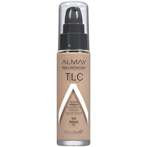 Almay Truly Lasting Color Foundation Makeup, Naked, 1 fl. oz., SPF 15 Broad Spectrum