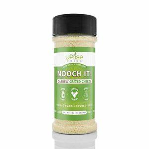 "NOOCH IT! Organic Dairy-Free Cashew Grated Cheeze 4oz (Vegan""Parm"", Gluten-Free)"