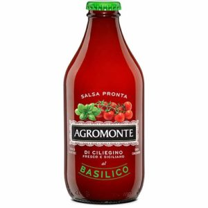 Ready Cherry Tomato Sauce with Basil by Agromonte (330 gram)