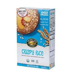Nature's Path Crispy Rice Cereal, Healthy, Organic, Gluten-Free, 10.6 Ounce Box (Pack of 6)