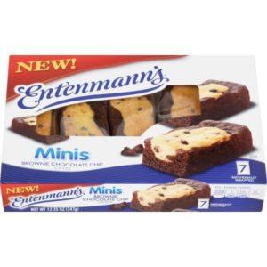 Entenmann's Mini Brownie Chocolate Chip Cakes