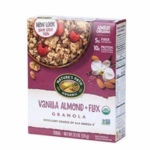 Nature's Path Vanilla Almond and Flax Granola, Healthy, Organic, 11.5-Ounce Box