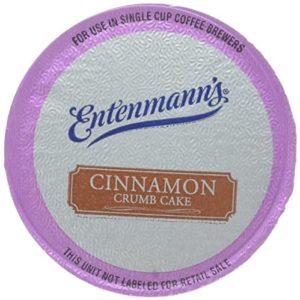 Entenmann's Cinnamon Crumb Cake Capsule/K-Cup Coffee, 20 Count