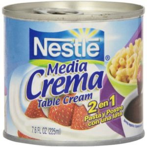 Nestle, Media Crema, Table Cream, 7.6 oz