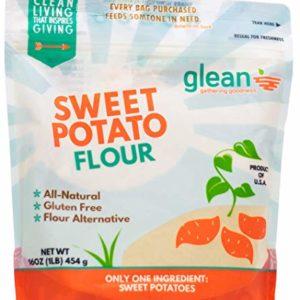 Glean Sweet Potato Goodness   Sweet Potato Flour and Superfood Powder   Paleo, Vegan, No Added Sugar   16 oz (1 lb)