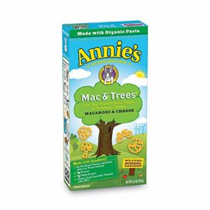 Annie's Mac and Trees Macaroni & Cheese, 12 Boxes, 5.5oz (Pack of 12)