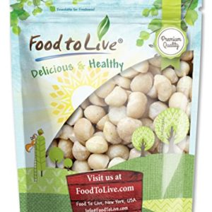 Food to Live Macadamia Nuts (Raw, Kosher) (4 Pounds)