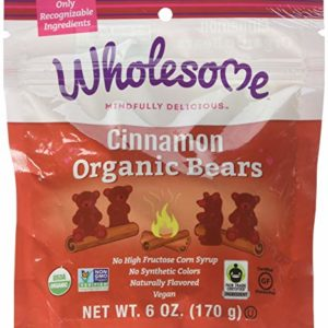 Wholesome! Organic Cinnamon Bears Gluten Free Vegan Candy