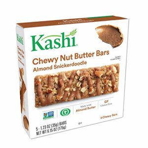Kashi Almond Snickerdoodle Chewy Granola Nut Butter Bars, 6.15 oz