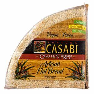 Casabi Casabe Artisan Flatbread (Cassava Bread), Naturally Gluten-Free (GF), Vegan, Paleo, Low Fodmap, AIP Friendly, Made of 100% Yuca Root. 7 oz/pack (1-Pack)