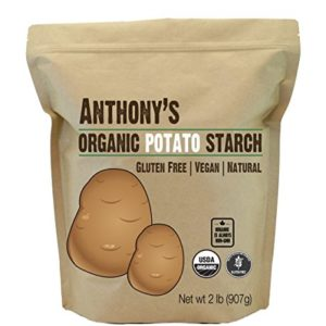 Anthony's Organic Potato Starch, Unmodified, 2lbs, Gluten Free & Non GMO, Resistant Starch
