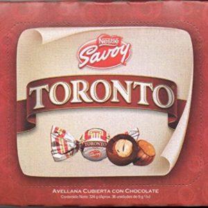 Nestle Savoy Toronto Chocolate Covered Hazelnut Savoy 36 Unit NET Wt 324g
