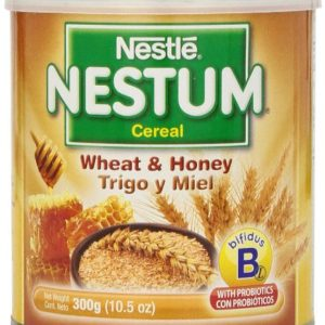 Gerber Baby Cereal Nestle Nestum Cereal, Wheat and Honey, 10.5 Ounce