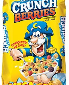 Cap'n Crunch Crunch Berries Breakfast Cereal, Mega Size 40 oz. Bag