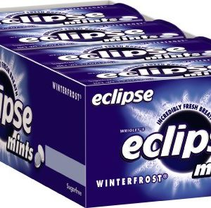 Eclipse Sugarfree Mints Winterfrost, 1.2 Ounce Tins (Pack of 16)