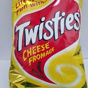 Twisties - CHEESE Flavoured Snack (Pack of 1 X 100g) Life is Fun with Fiji Twisties.