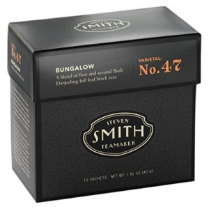 Smith Teamaker Bungalow Blend No. 47 (Full Leaf Black Tea), 1.41 oz, 15 Bags