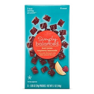 Raspberry Lemonade Fruit Twists - 5.1oz - Simply Balanced