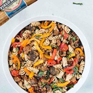 Field Roast Vegan Plant Based Italian Sausage, 8 links per pack (Pack of 6)